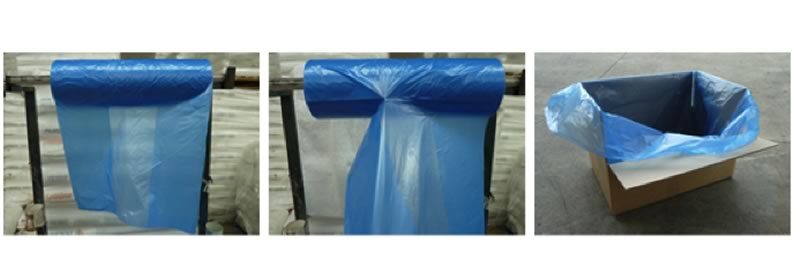 Plastic Packaging Rolls & Box With Plastic Bag