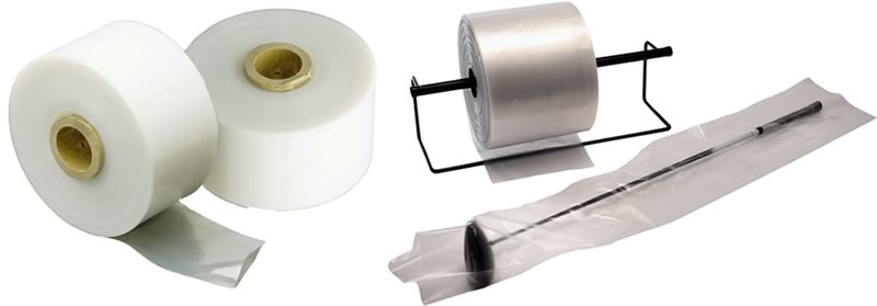 Custom Poly Tubing Rolls, Standard Film & In A Shrink Wrap Tubing Rolls